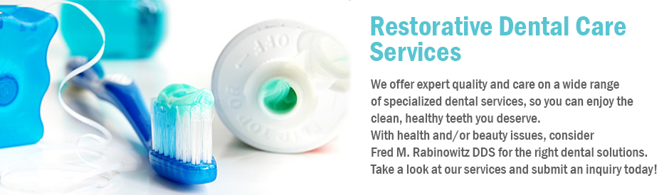 Restorative Dental Care Services
