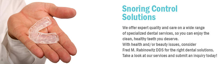 Snoring Control Solutions in Plano, TX