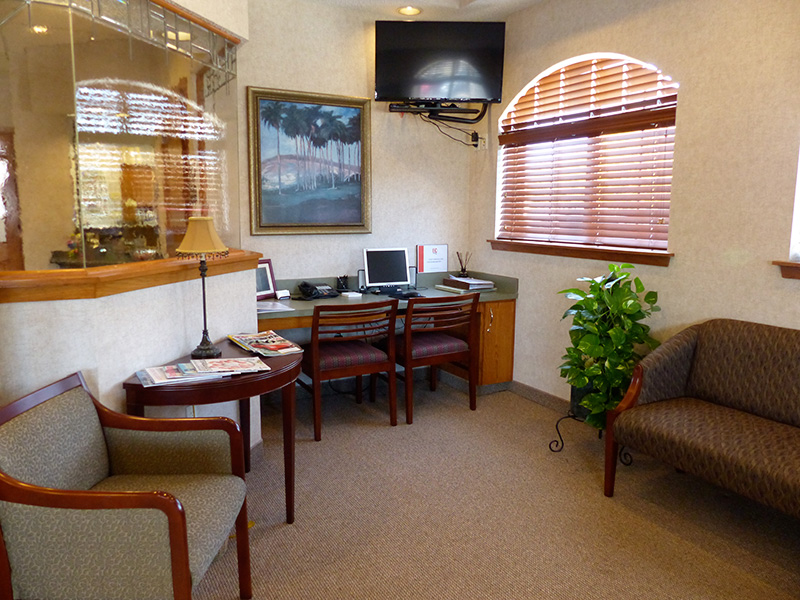 Dr. Rabinowitz Dental Office Waiting Room
